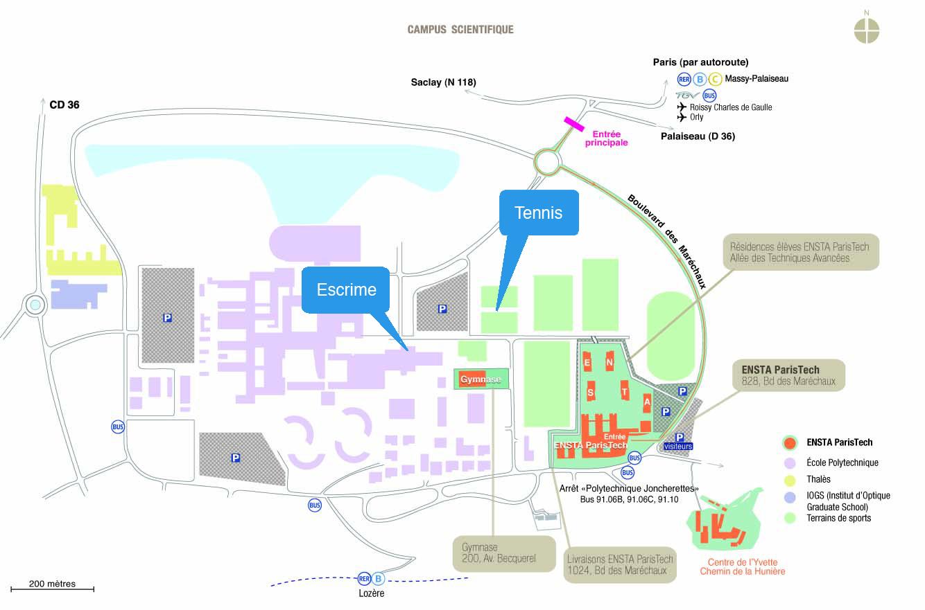 A p e plans du campus polytechnique ensta paristech for E plans